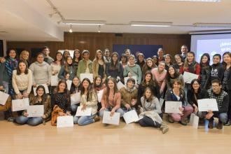 Liceo de Dolores visita el BCU y participa del Proyecto Facilitadores