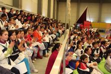 La FIEF en Rocha repleta de niños, jóvenes y docentes