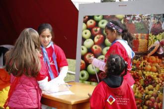 Mercado de manzanas