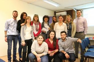 UTU de San Carlos visita el BCU y participa del Proyecto Facilitadores