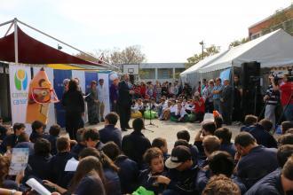 La FIEF inició el año en Las Piedras junto a 2.500 estudiantes