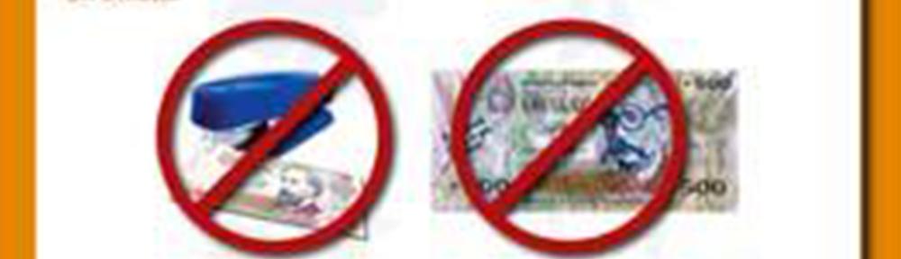 Taller «Cuidado de los billetes» en escuelas públicas y privadas