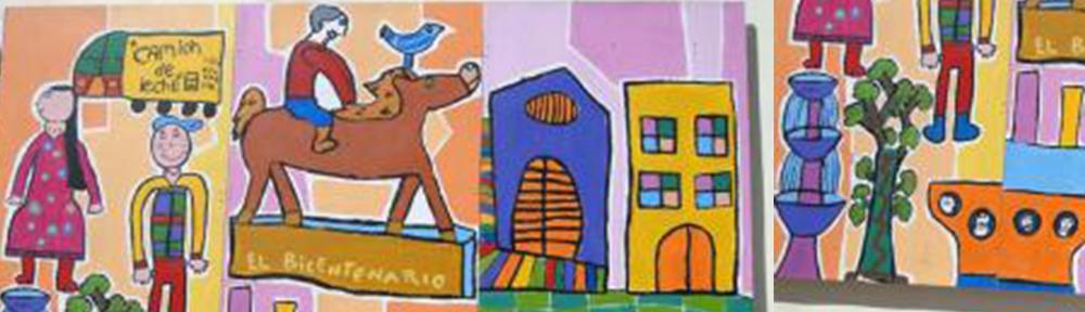 Proyecto de Pintura escolar en el edificio del Banco Central