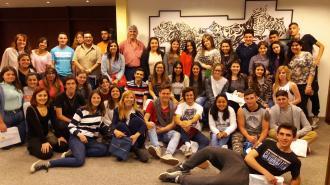 Talleres de Sistema Financiero y Política Monetaria | Estudiantes del Liceo 1 de Atlántida