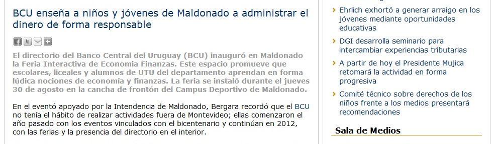 FIEF, Maldonado